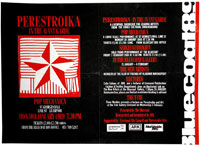 Bluecoat Gallery, Liverpool Perestroika in the Avant-Garde, 1989 Festival poster with a reproduction of  (E-E) Evgenij Kozlov''s painting Star (1987)